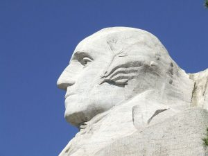 Denkmal für George Washington am Mount Rushmore