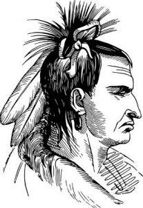 George Washington kämpft im Indianerkrieg und dem Franzosenkrieg