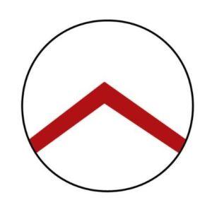 Der griechische Buchstabe Lambda auf den Schilden der spartanischen Hopliten.