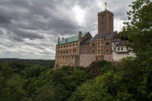 Ein Foto von der Wartburg in Thüringen dem zeitweiligen Aufenthalt von Martin Luther