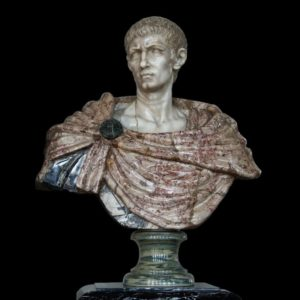 Büste von Kaiser Diokletian (284 bis 305 nach Christus)