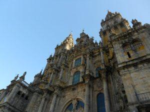 Kathedrale von Santiago de Compostela über dem Grab von Apostel Jakobus dem Älteren