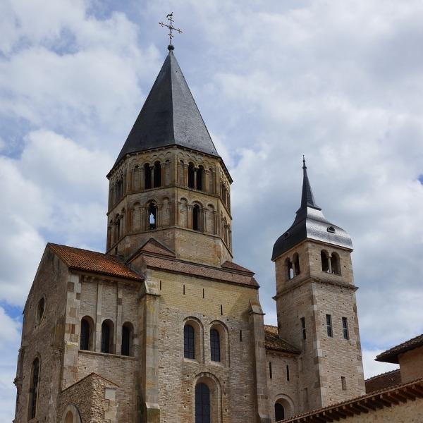 Die Abtei von Cluny