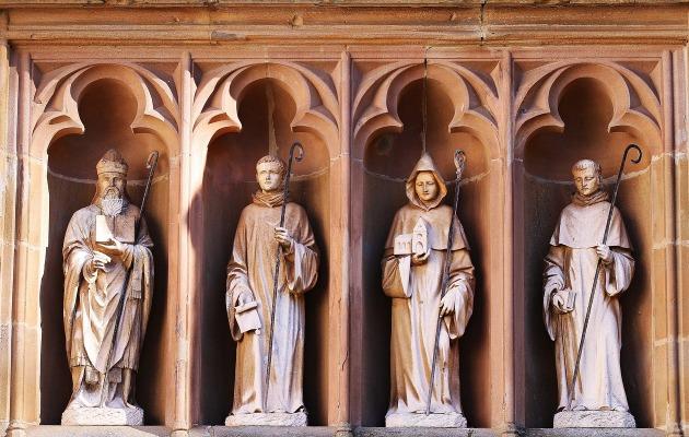 Bernhard von Clairvaux und die anderen Gründungsfiguren des Zisterzienserordens