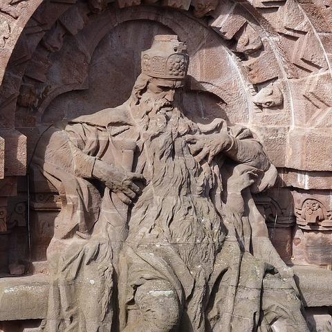 Denkmal für Kaiser Friedrich I. Barbarossa auf dem Kyffhäuser