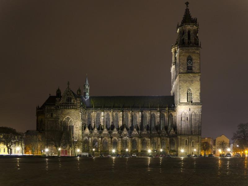 Kathedrale des Erzbistums Magdeburg gegründet von Otto dem Großen.