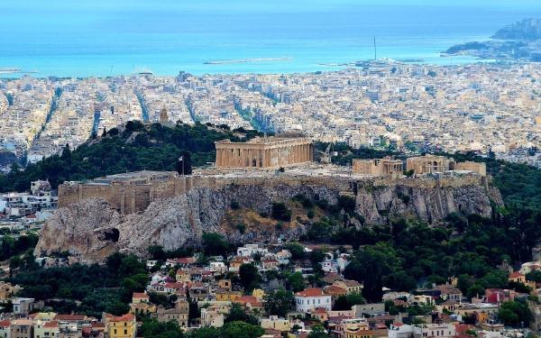 Die Akropolis - Festung des Stadtstaates Athen