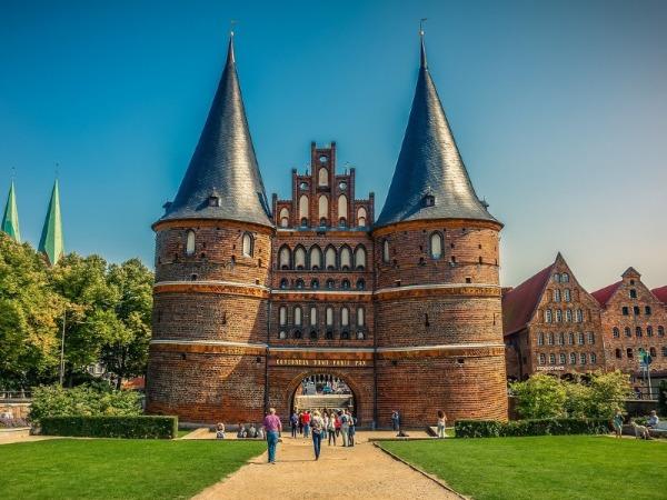 Holstentor und Kontore der Hansestadt Lübeck
