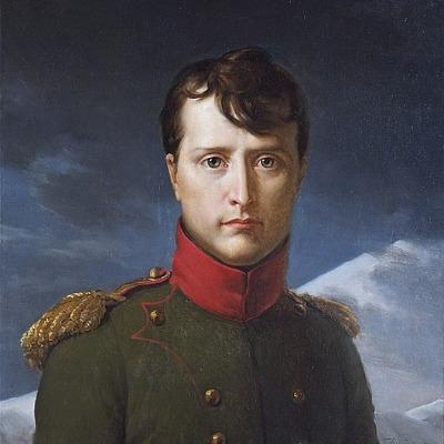 Portrait von Napoleon Bonparte in militärischer Uniform