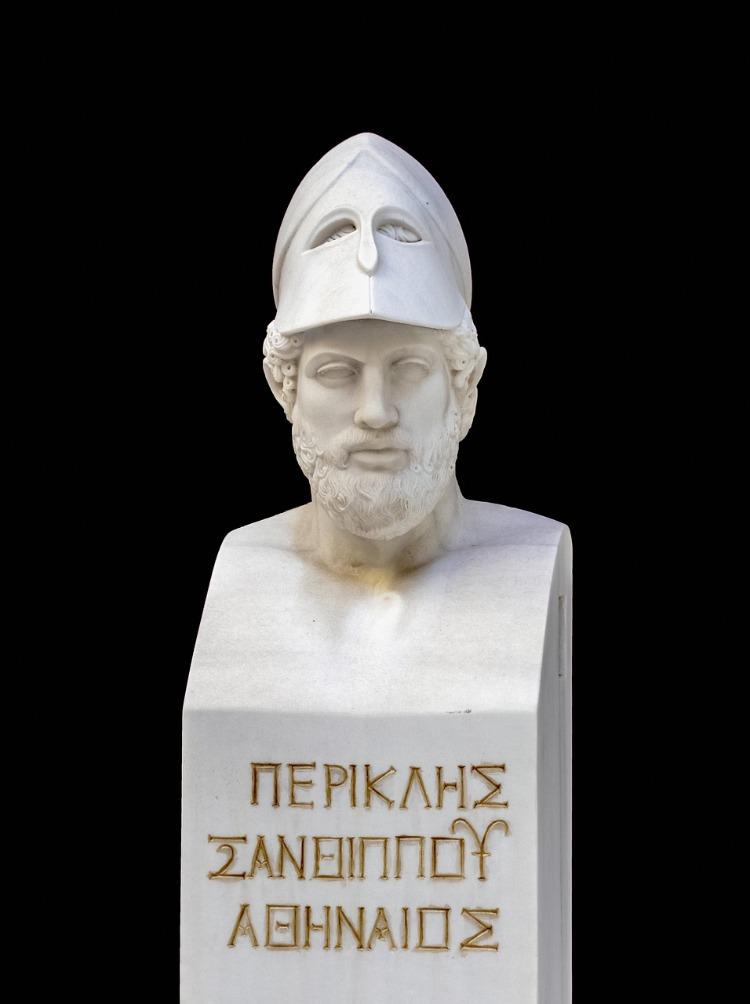 Büste des Perikles - Heerführer des Stadtstaates Athen