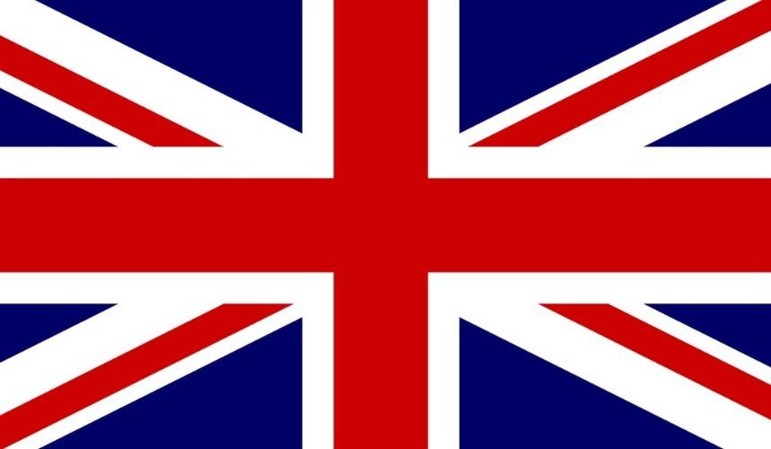 Union Jack - die Flagge des Königreiches Großbritannien