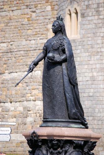 Statue von Königin Victoria