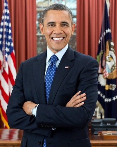 Präsident Barack Obama im Oval Office