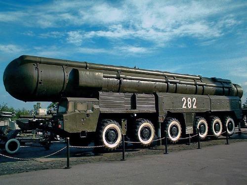 SS-20-Mittelstrecken-Rakete