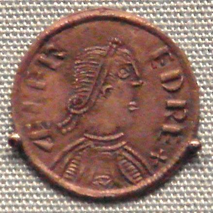 Alfred der Große Kupfermünze