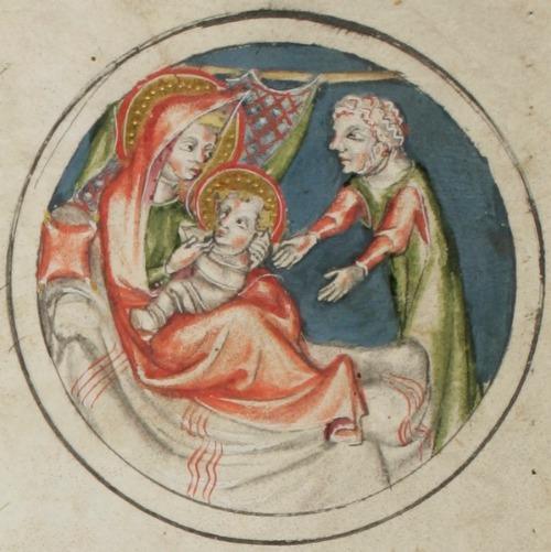 Elisabeth und Johannes der Täufer