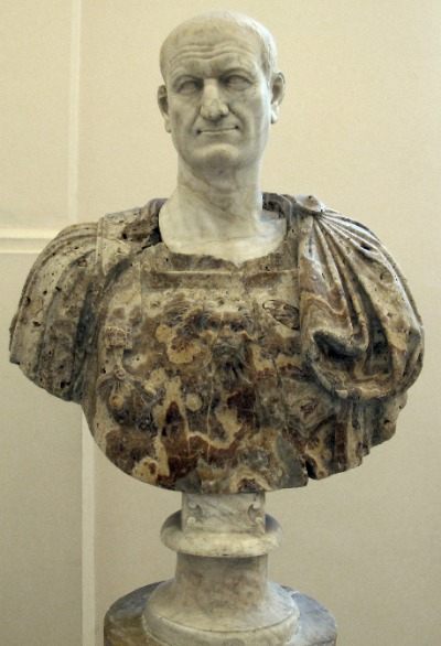 Vespasian Büste
