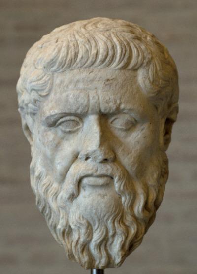 Kopf des Platon