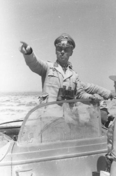 Erwin Rommel vor Tobruk