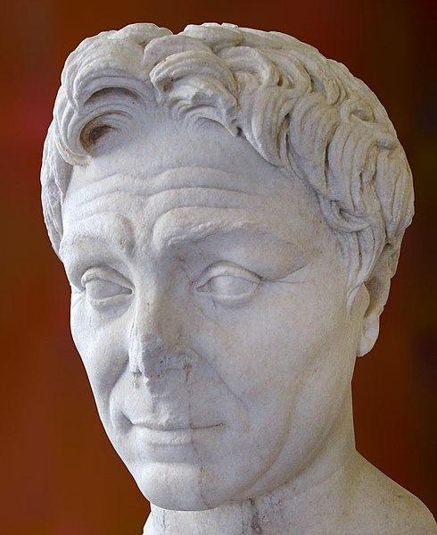 Gnaeus Pompeius Magnus im Louvre in Paris