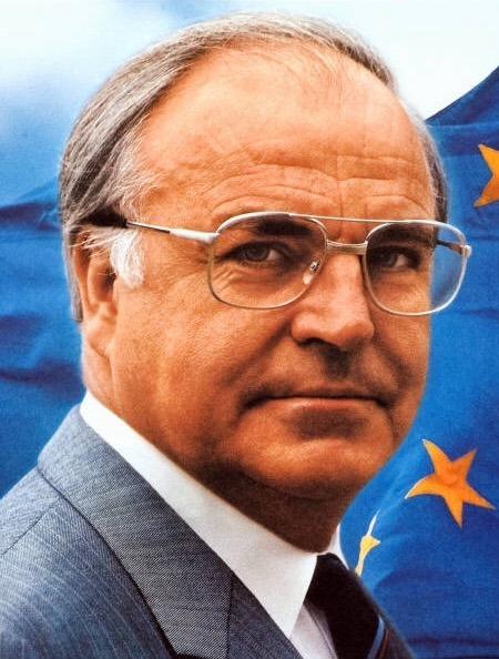 Bundeskanzler Helmut Kohl