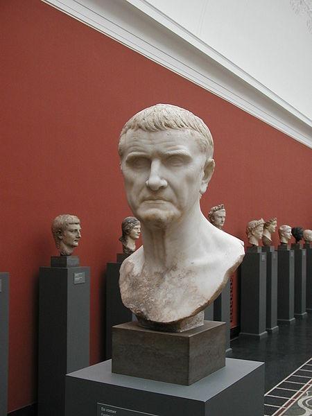 Marcus Licinius Crassus Büste