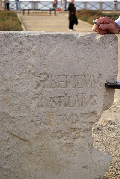 Pontius Pilatus Inschrift