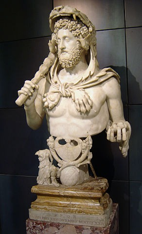Kaiser Commodus Büste