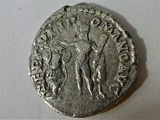 Kaiser Commodus Münze Hercules