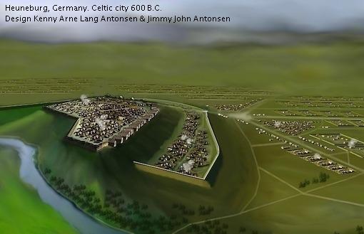 Keltische Siedlung Heuneburg