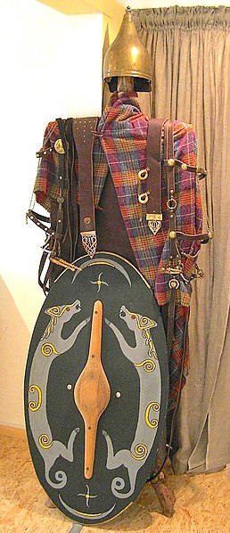 Ausrüstung eines keltischen Kriegers