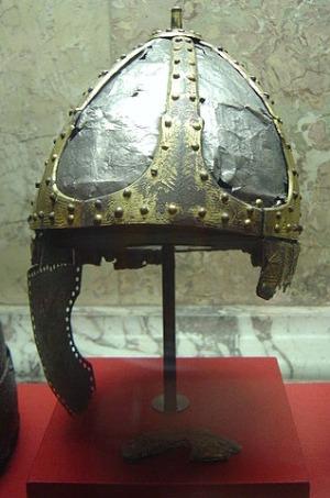 Helm aus ost-römischer Produktion
