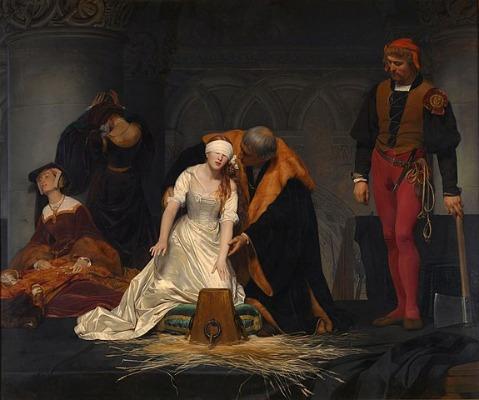 Exekution Lady Jane Grey