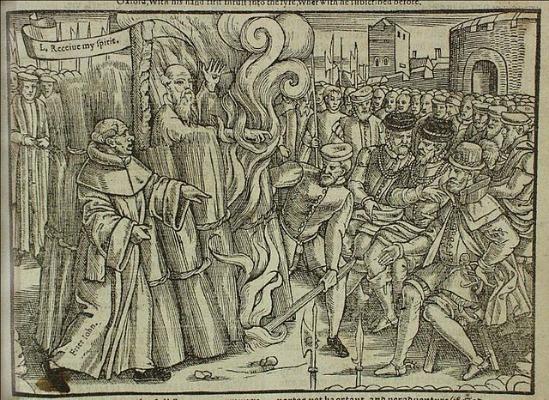 Exekution Thomas Cranmer