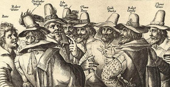 Guy Fawkes und Verschwörer