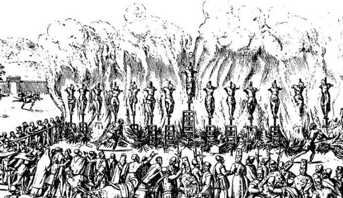 Inquisition Scheiterhaufen