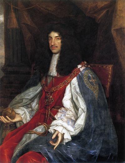 Karl II. Stuart Porträt
