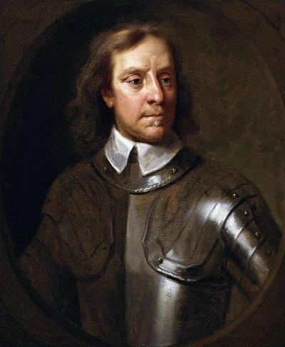 Oliver Cromwell Porträt