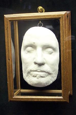 Oliver Cromwell Totenmaske
