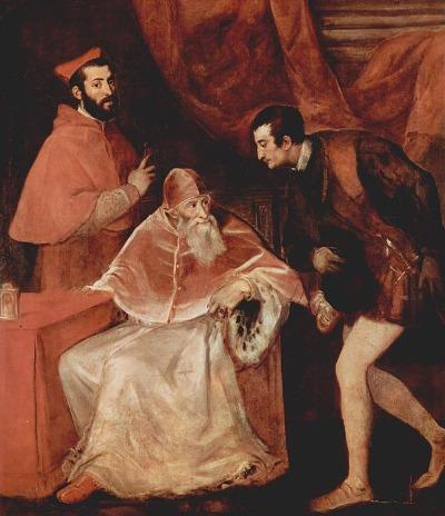Papst Paul III. und seine Nepoten