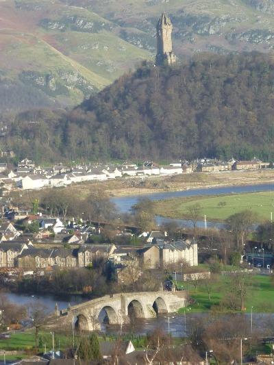 Brücke von Stirling Foto