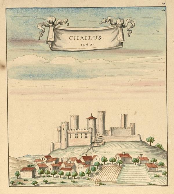 Burg Châlus-Chabrol