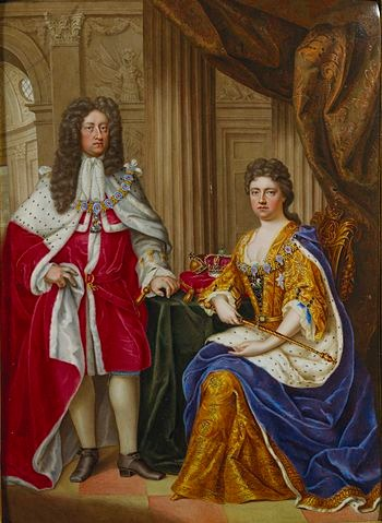 Königin Anne und ihr Ehemann
