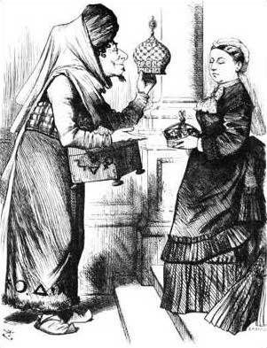 Königin Victoria Karikatur