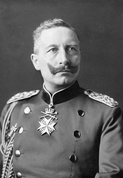 Kaiser Wilhelm II. Porträt