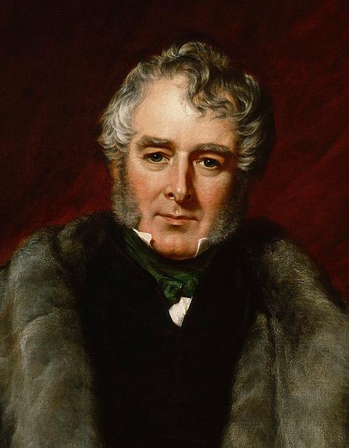 Lord Melbourne Porträt