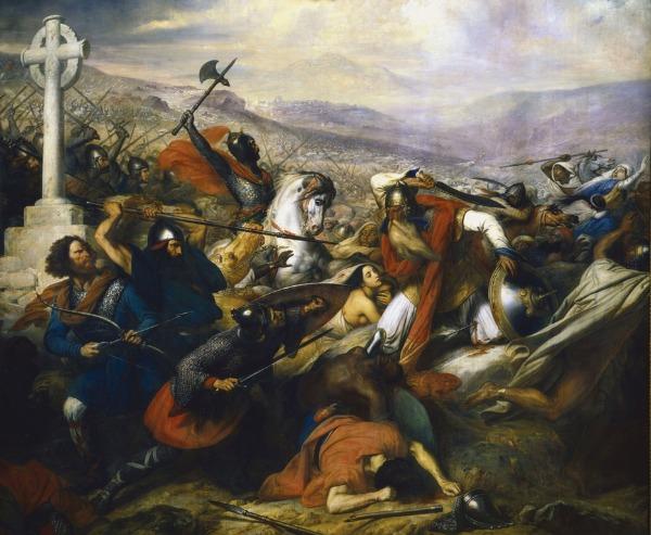 Schlacht von Tours und Poitiers 732