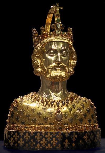 Karl der Große Büste