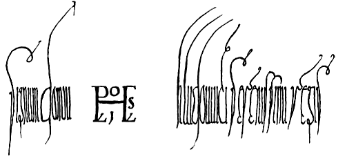 Ludwig der Deutsche Signatur