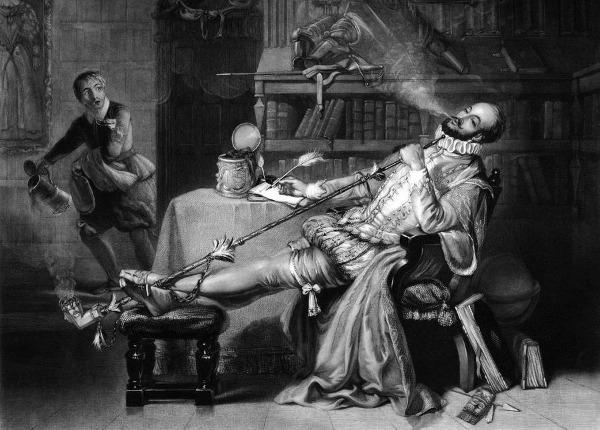 Sir Walter Raleigh Pfeife